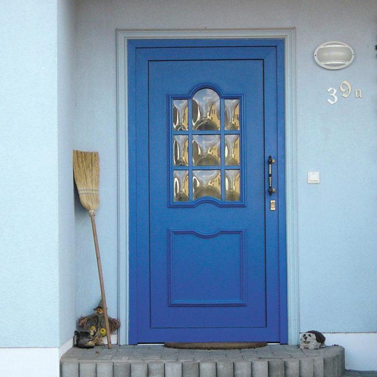 Haustüre Alissa I blau