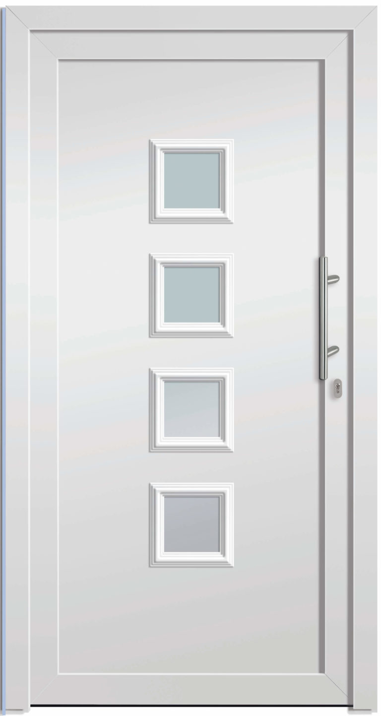 Haustüre NP-3000-90 weiß