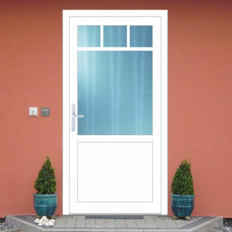 Haustüre NP152 weiß