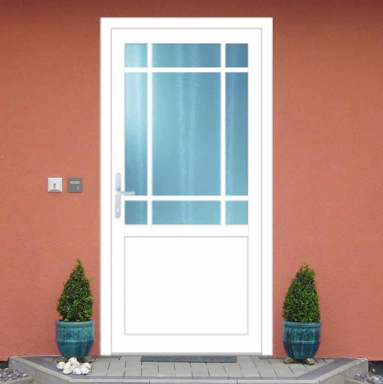 Haustüre NP154 weiß