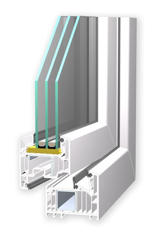 Veka Fenster Profil Softline 82 MD