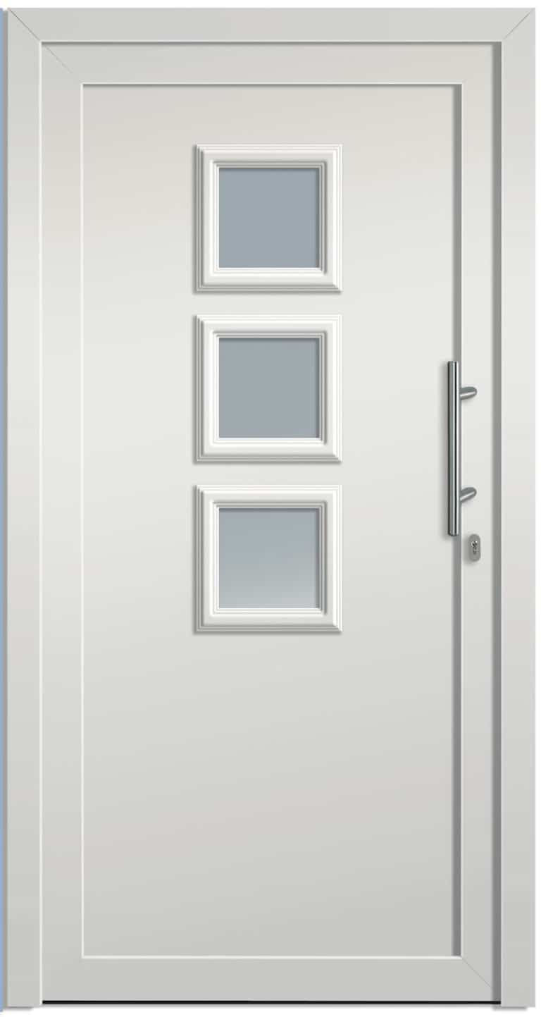 Haustüre NP-3000-60 weiß