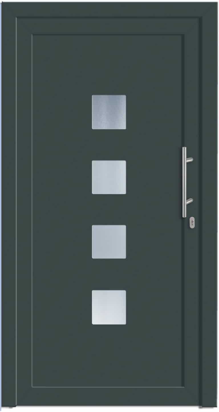 Haustüre NP-2000-10 Basaltgrau