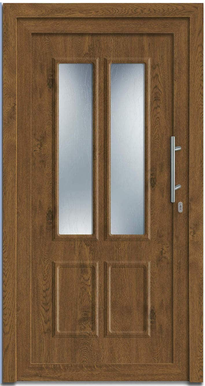 Haustür NP-6000-20 Golden Oak genarbt