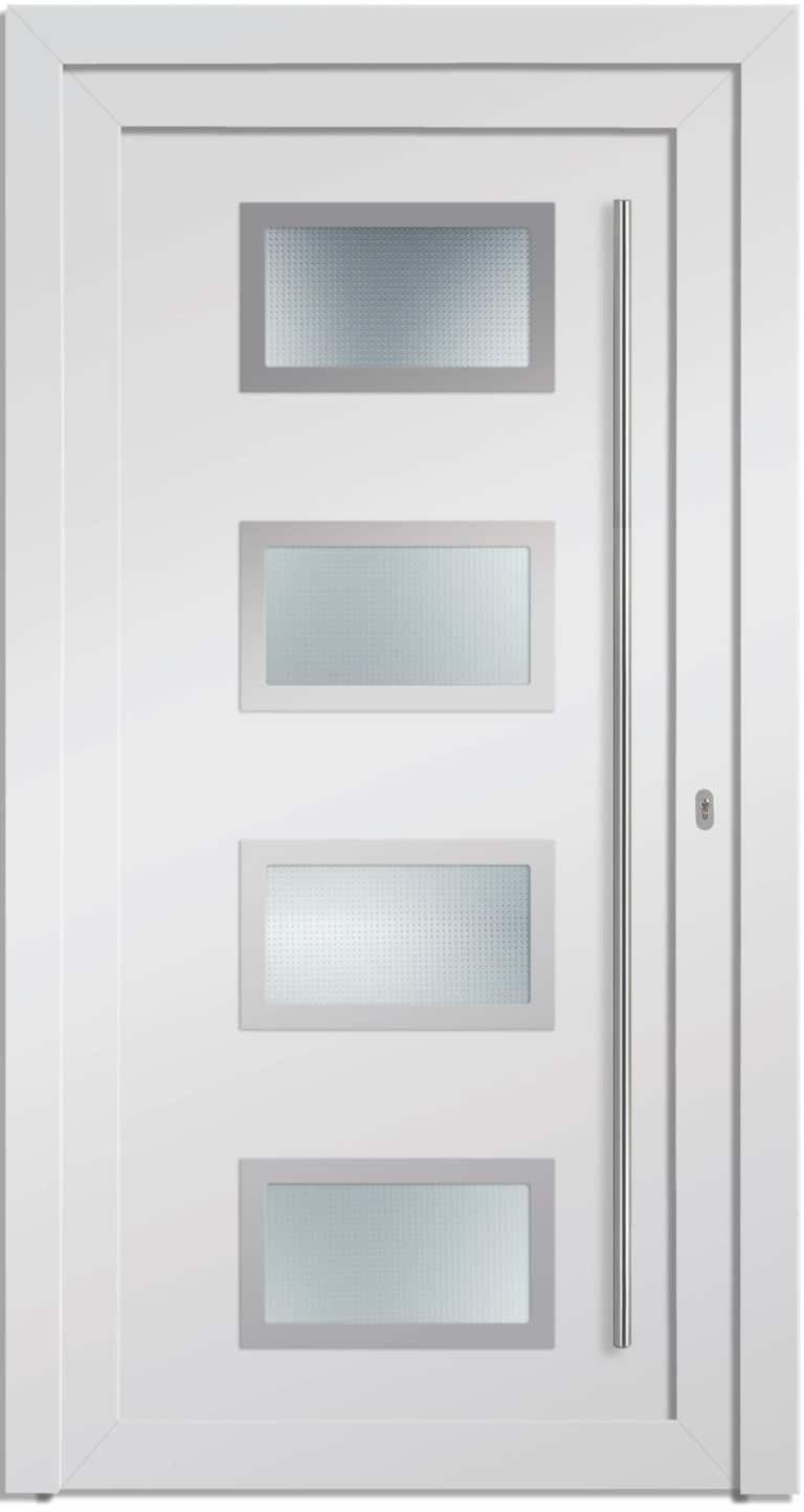 Haustür NP-7000-70 weiß