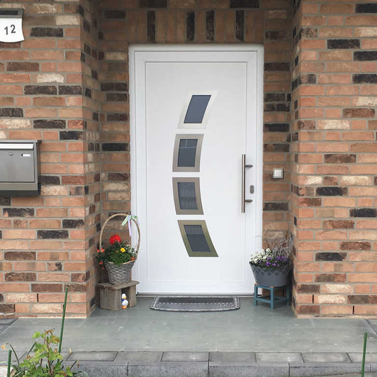Haustür Friederike weiß