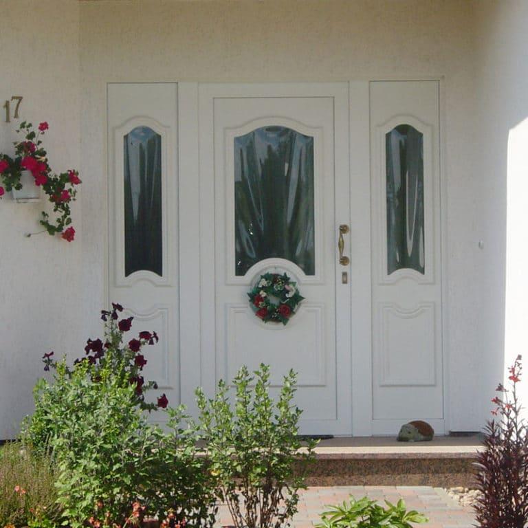 Haustür Hella weiß