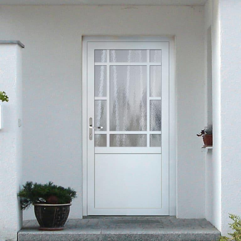 Haustür NP156 weiß