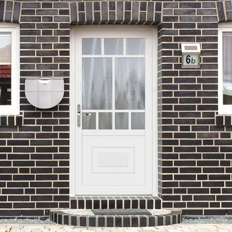 Haustüre NP160 Sockel Bea weiß