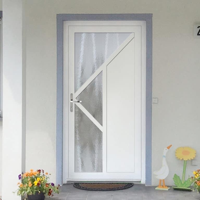 Haustür NP504 weiß