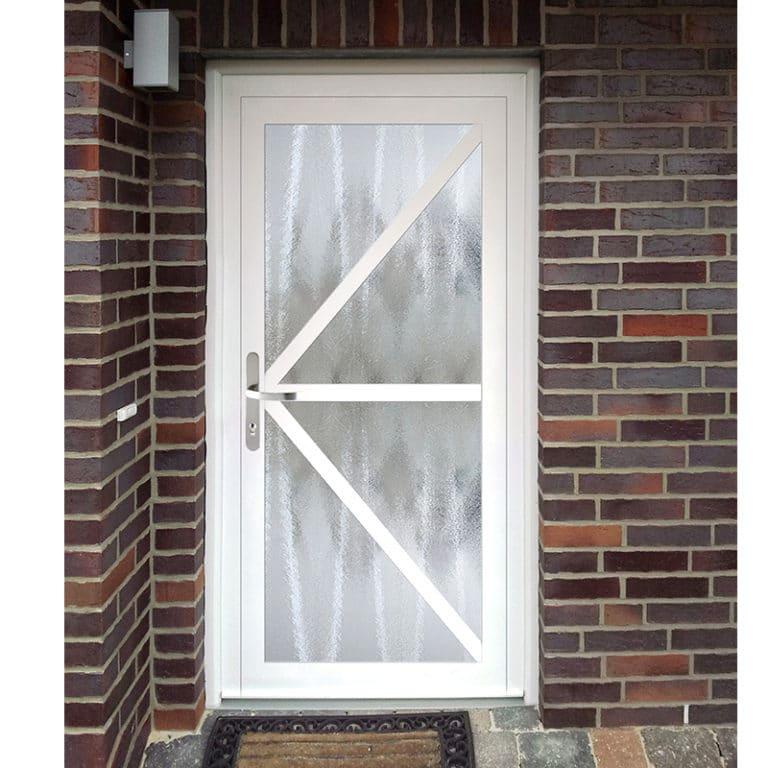 Haustür NP574 weiß