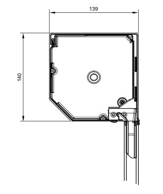 Vorbau-Rolladen Querschnitt 137er eckig