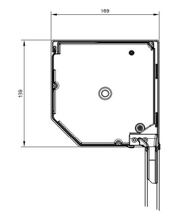 Vorbau-Rolladen Querschnitt 165er eckig